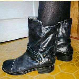 OTBT engineer boots. Anthropologie brand. Sz 9